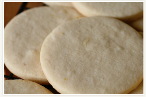 Lemon Vanilla Bean Sugar Cookie